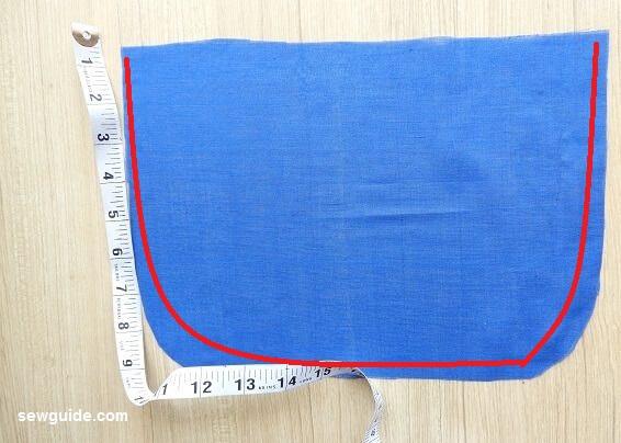 coser bolsa de mensajero