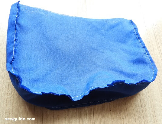 tutorial de costura de bolsa de mensajero
