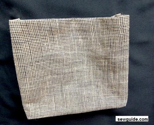 tutorial de costura de bolsillo de carga