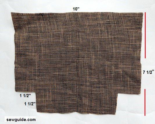 como coser bolsillos de carga