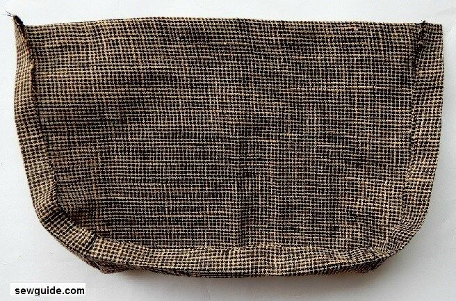 tutorial de costura de bolsillo de carga con patrón