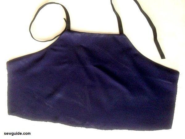 vestido cami patrón slip dress