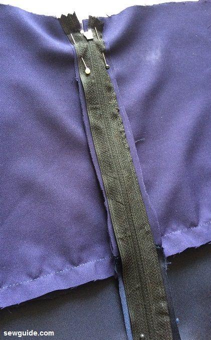patrón de costura vestido cami