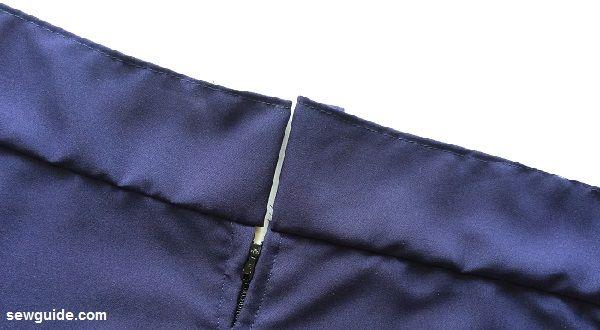 patrón de costura de vestido slip
