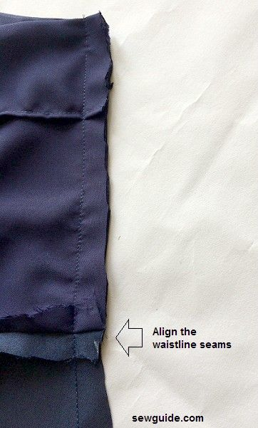 vestido cami vestido slip patrón de costura