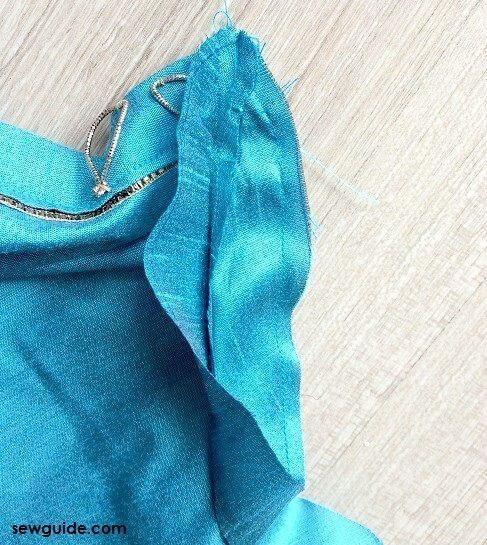 como coser un kurti