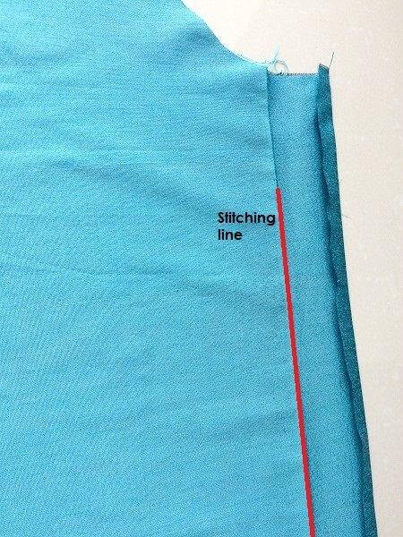 como coser kurti top