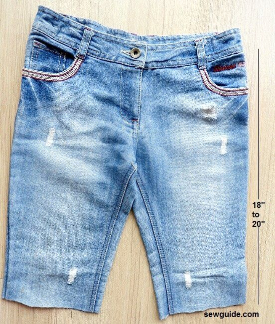 falda de jeans diy - mini