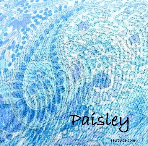 patrón de paisley