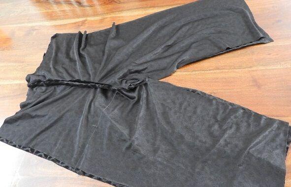 patrón de pantalones capri