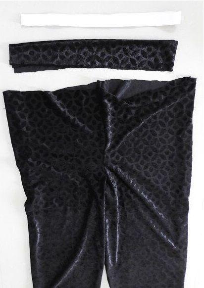 tutorial de patrón de costura de pantalones capri