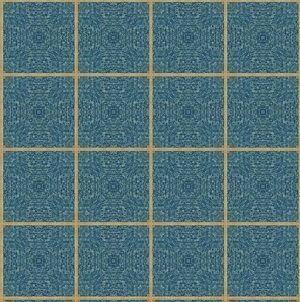 patrón de verificación de cristal