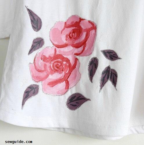 cómo hacer pintura de camiseta