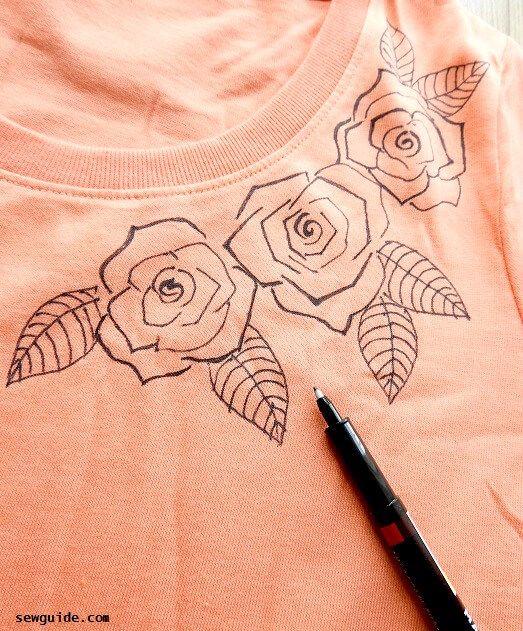 cómo hacer pintura de tela en camisetas