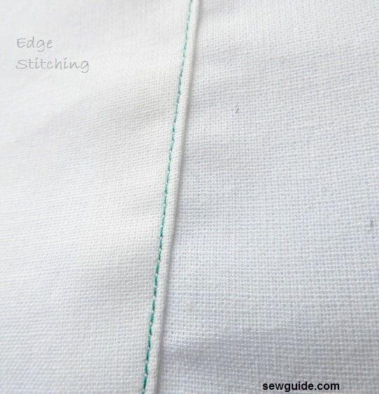costura de borde