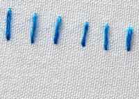 diferentes tipos de puntadas de bordado a mano