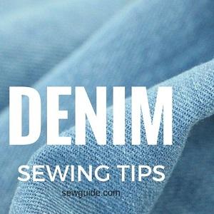 coser con tela de mezclilla jeans