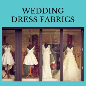 material de vestido de novia