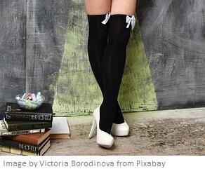 calcetería - muslos altos