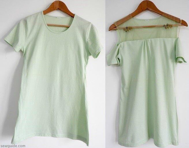 camisetas de corte