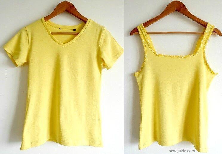 tutorial de corte de camiseta