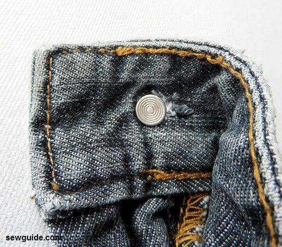 cómo hacer el reemplazo de botones de jeans