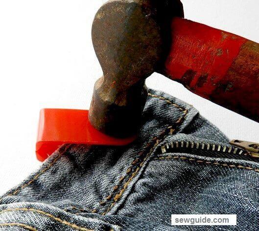 cómo reemplazar el botón de jeans