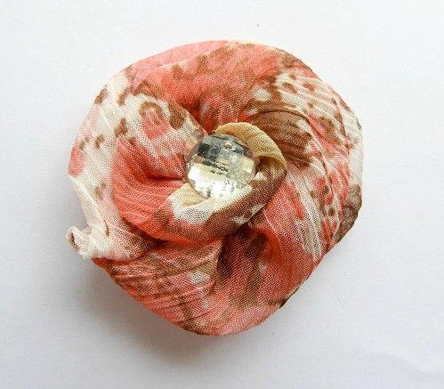 rosas de tela