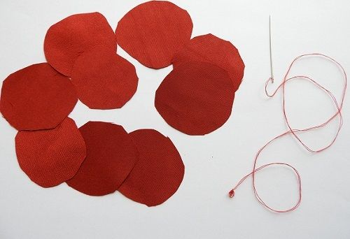 como hacer una tela rosa