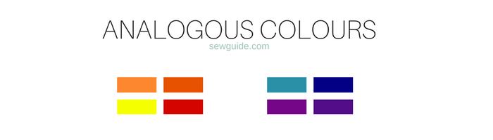 rueda de color de moda para ropa