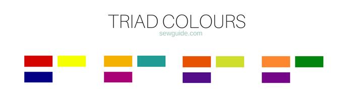 mezcla y combinación de colores para la ropa