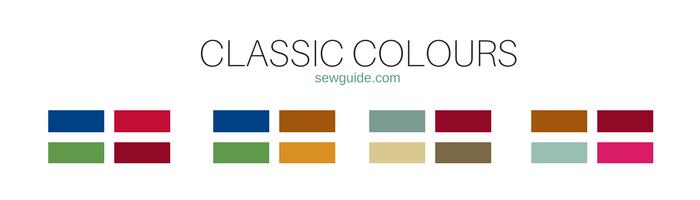 carta de colores para combinaciones
