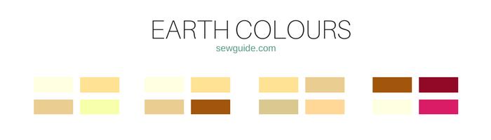 combinaciones de colores y esquemas