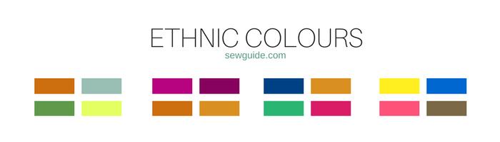 combinaciones de colores y tipos