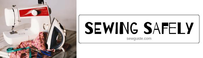 máquina de coser de seguridad