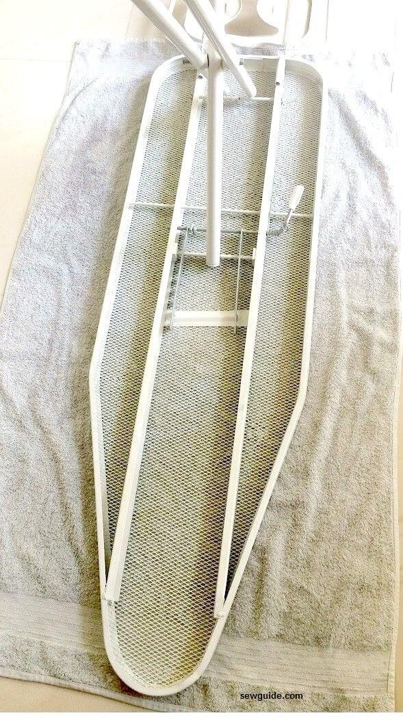 cubierta de la tabla de planchar diy