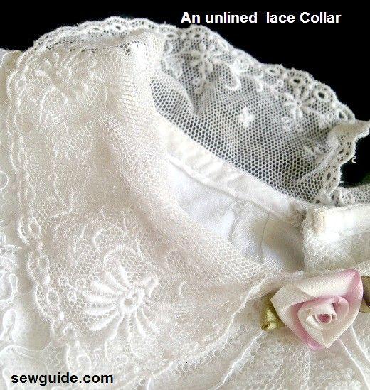 costura de encaje