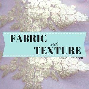 telas con textura