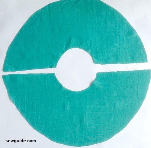 patrón de manga flauta