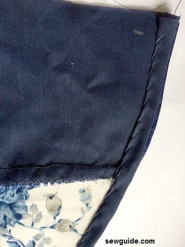 patrón de vestido con hombros caídos