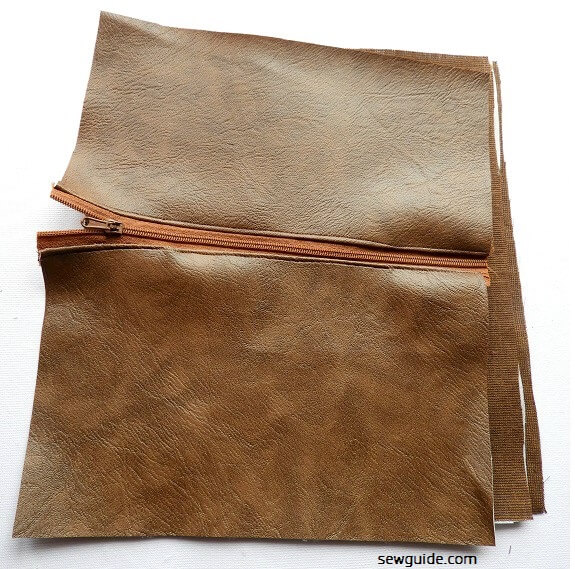 cómo coser un patrón de costura de billetera
