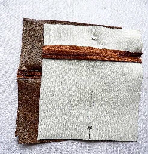 patrón de billetera de bricolaje