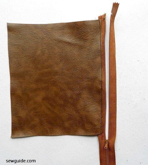 coser una billetera de bricolaje