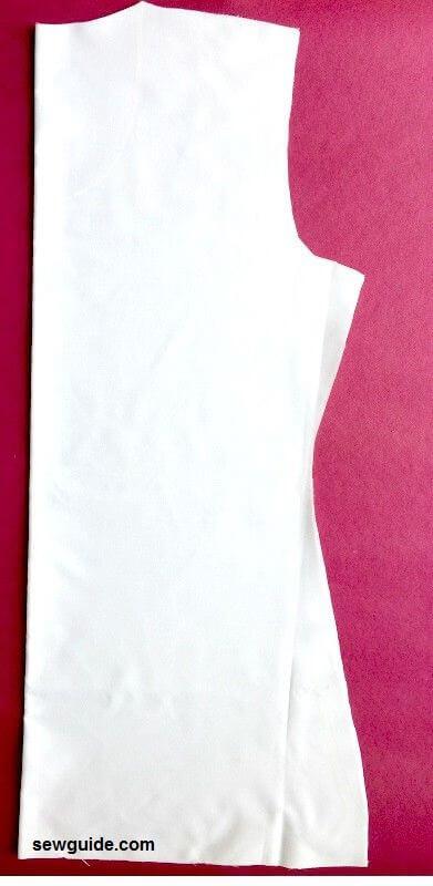patrón básico de corpiño