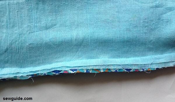 patrón de falda de yugo