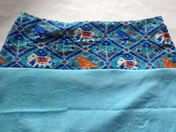 costura de falda de yugo