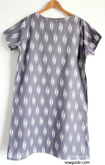 vestido de bricolaje