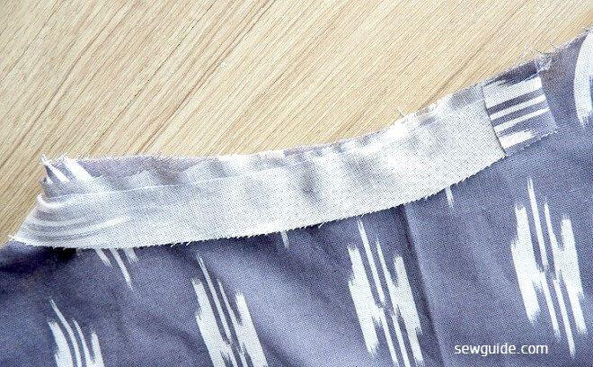 patrón de costura del vestido de bricolaje